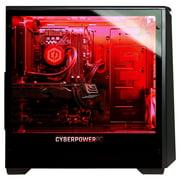 CYBERPOWERPC Gamer Supreme Liquid Cool SLC9108W w/ AMD Ryzen 7 2700X/ AMD  Radeon RX 590 8GB, 16GB Memory, 240GB SSD, 2TB HDD, WiFi and Windows 10  Home