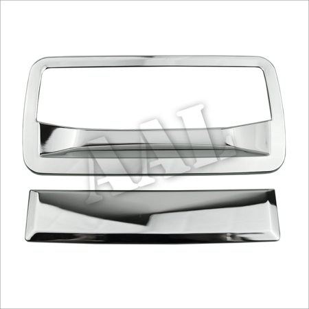 AAL Premium Chrome Cover For 1998 1999 2000 2001 2002 2003 2004 2005 2006 GMC Jimmy S-10 S10, Chevrolet S-10 Blazer SUV Chrome Tailgate Tail Gate Cover Trunk Handle Without Keyhole
