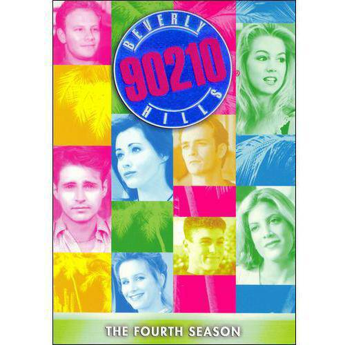 BEVERLY HILLS 90210-4TH SEASON COMPLETE (DVD/8DISCS)