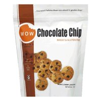 WOW Baking Bag Gluten Free Chocolate Chip Cookies, 8 OZ (Pack of 12)