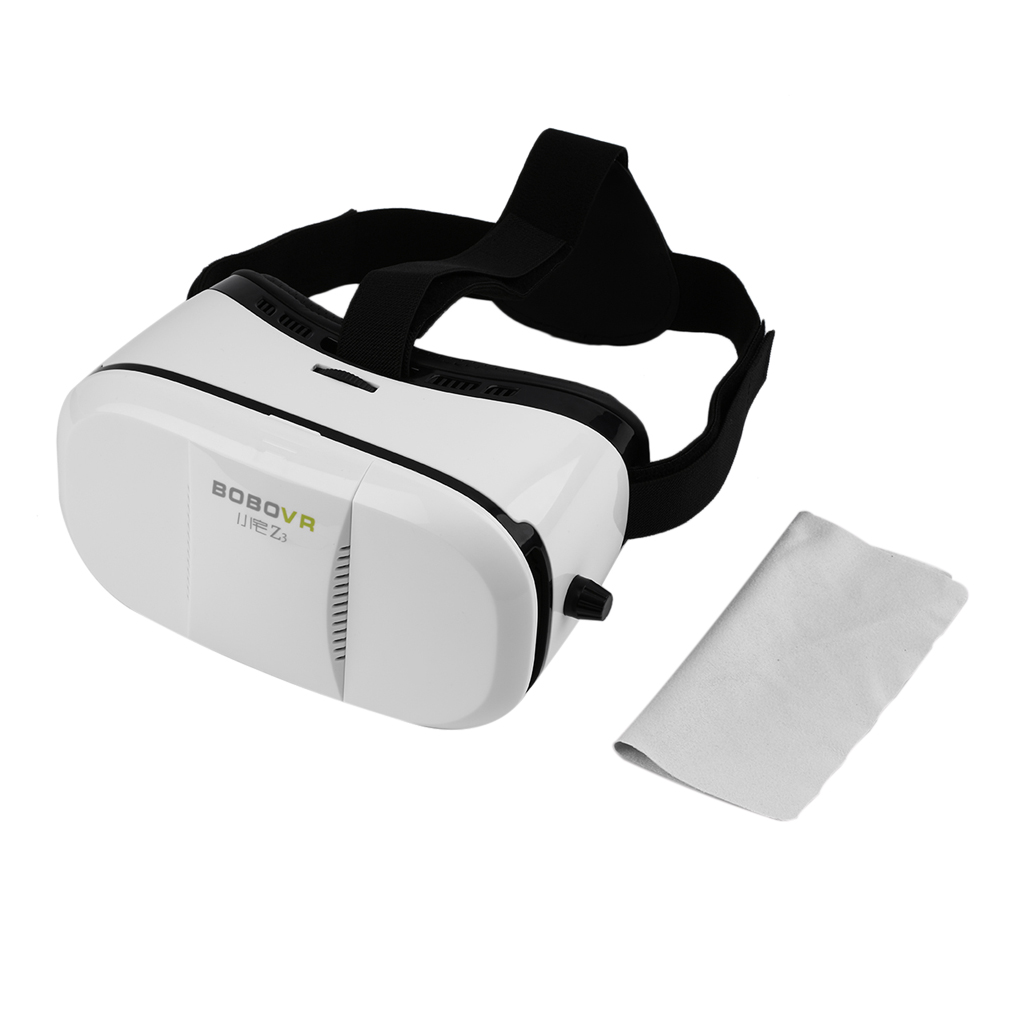 """Enhanced Version 3D HeadMount VR Glasses Immersive Virtual Reality Helmet for 4"""" to 6"""" Smartphone with 1080P"""