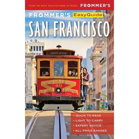 Frommer's easyguide to san francisco - paperback: