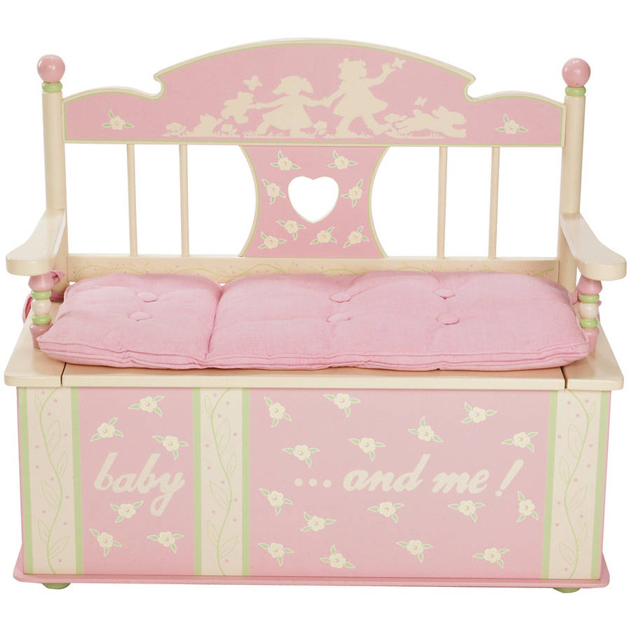 Levels of Discovery Rock-A-My-Baby Bench Seat with Storage