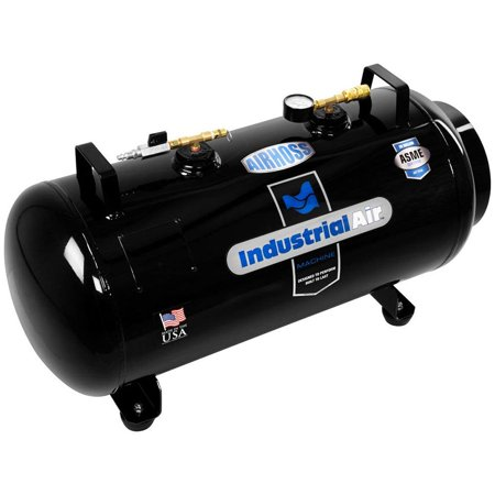 Industrial Air AirHoss 20 Gallon Small Vertical & Horizontal Auxiliary Air