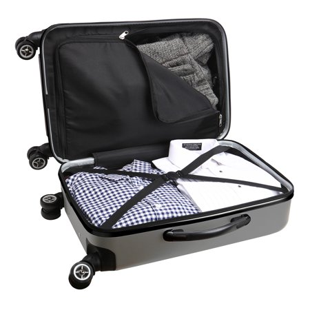NFL New York Giants Mojo Hardcase Spinner Suitcase - Silver