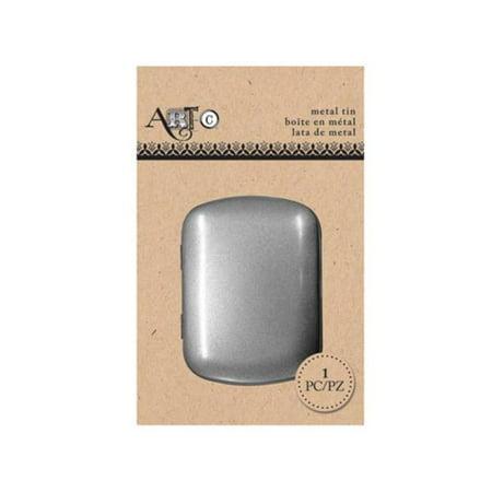 Small Metal Tins (Kole Imports CS001-48 Small Rectangular Metal Craft Tin - Pack of)