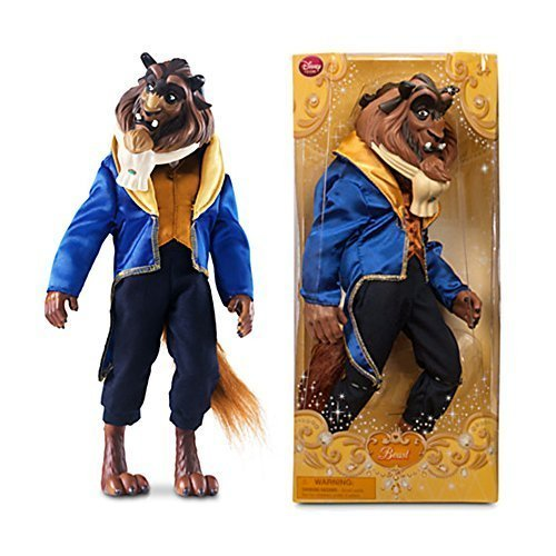Official Disney Beauty and The Beast 33 centimetre Beast Classic Doll by Disney