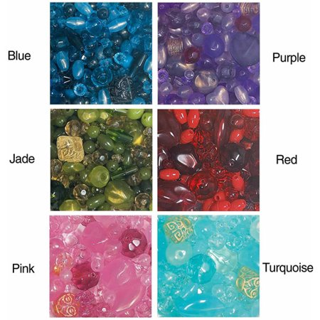 Element Beads, 1/2 lb, Bag of 1100, Jade Chinese Jade Beads Bangle
