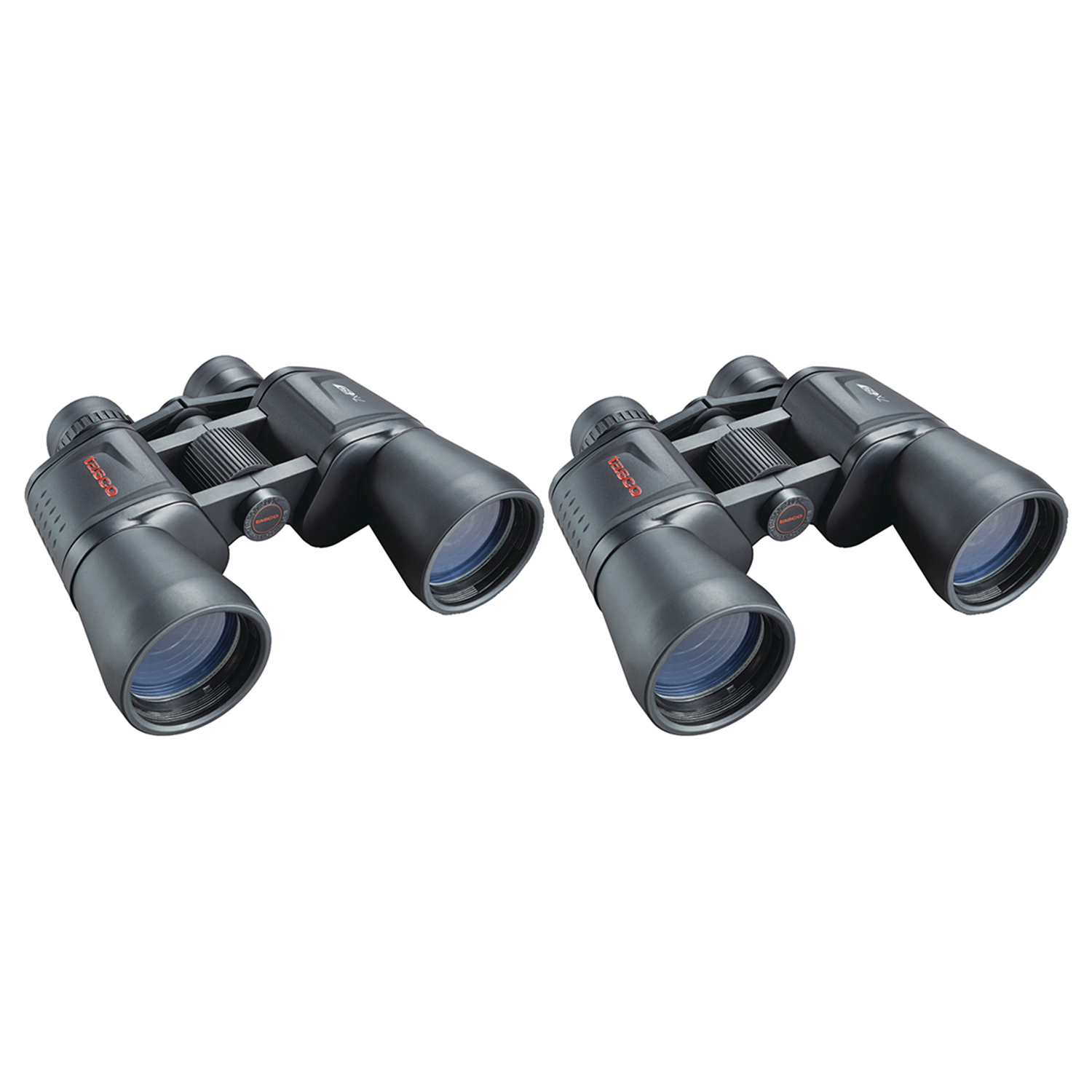 2 Pack Tasco 170125 Essentials 12 X 50mm Porro Prism Binoculars by Tasco