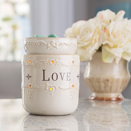 Candle Warmers Etc. Live, Laugh, Love Illumination Fragrance Warmer ()
