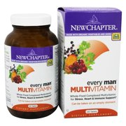 New Chapter Every Man Multivitamin Tablets, 120 Ct