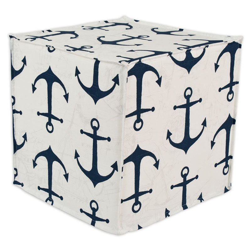 Brite Ideas Living Anchors Ottoman