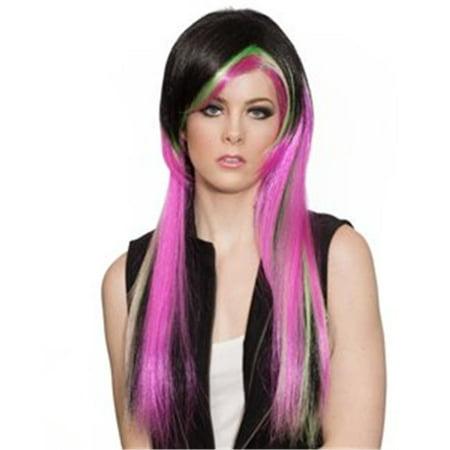 Alicia International 00382 BLWF EMO Wig (Eko Halloween)
