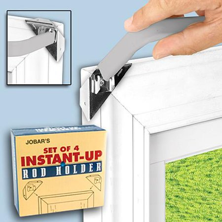 Instant Up Curtain Rod Holders Walmart Com