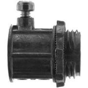 Halex 99107 3/4-Inch Electrical Metallic Tubing Set Screw Connector - Quantity 1