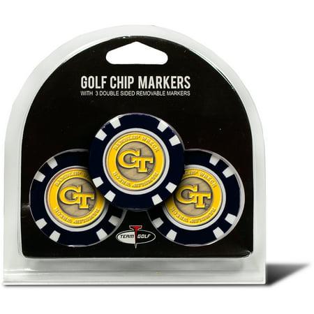 Georgia Chip (Georgia Tech U 3 Pack Golf Chip)