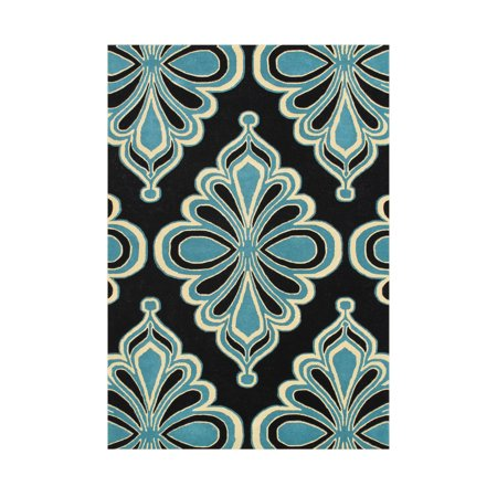 Alliyah Rugs Bright Lime Green Area Rug