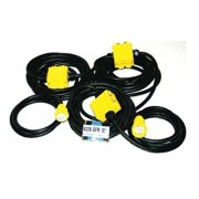 CEP Extension Cord,60ft,12/5,20A,SOW,Black 6226GFR
