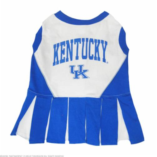 Mirage Pet Sports Fan Team Logo Design Kentucky Wildcats Pet Dog Cheer Leading Medium