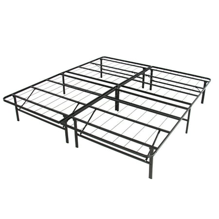 Best Choice Products Platform Metal Bed Frame Foldable No Box Spring Needed Mattress Foundation