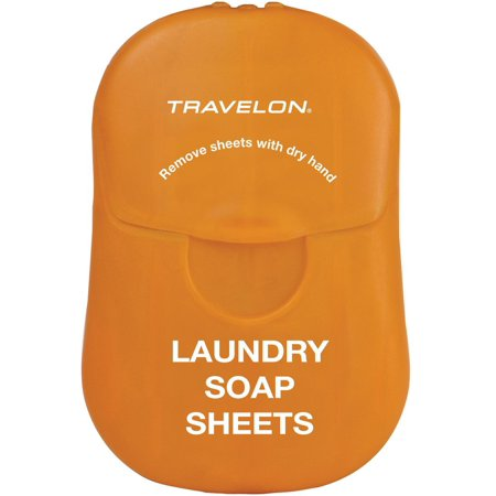 Travelon  Biodegradable Travel Laundry Soap SheetsWhite