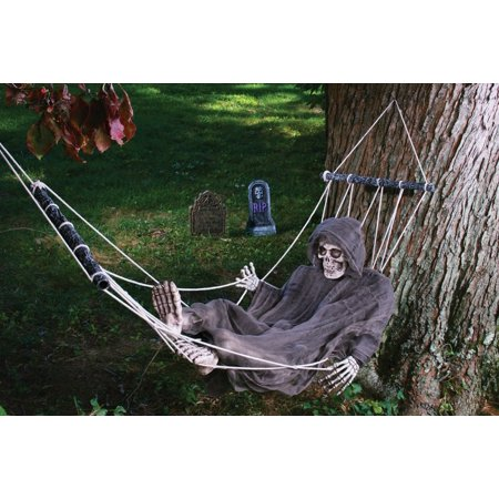 Lazy Bones Reaper and Hammock](Mens Banana Hammock)