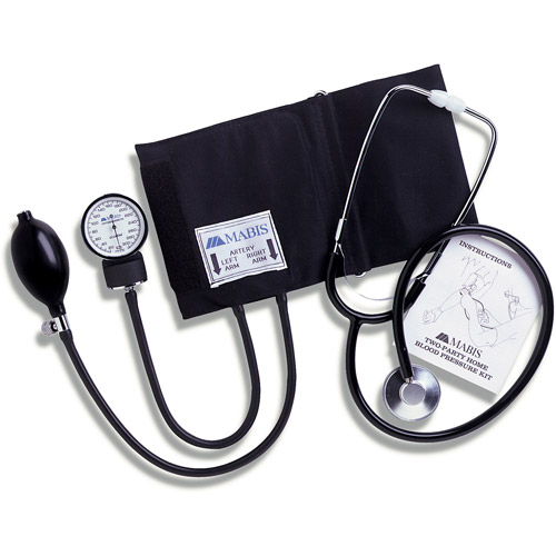 HealthSmart Two-Party Home Blood Pressure Kit, Adult