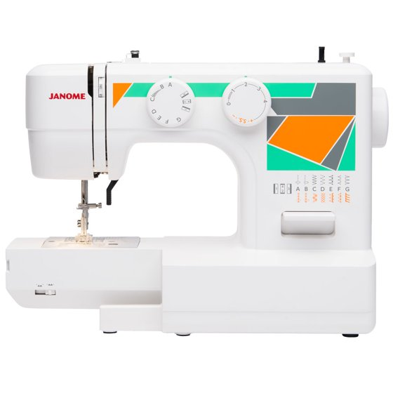 Janome MOD40 40Stitch EasytoUse Sewing Machine Walmart Extraordinary How To Sew Using Sewing Machine
