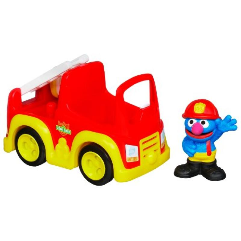 Sesame Street Playskool Grover's Fire Truck by