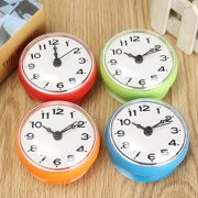 """Waterproof Kitchen Bathroom Bath Shower Clock Suction Cup Sucker Wall Decoration Home Furniture&DIY Dia. 7cm / 2.76"""" Battery Powered (not included)"""