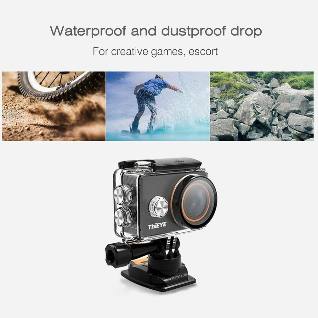 ThiEYE V5s Professional HD 4K 2.0 Inch Display Waterproof Action Camera 1080P 170 Degree Wide Viewing Angle Sport Camera On Sale