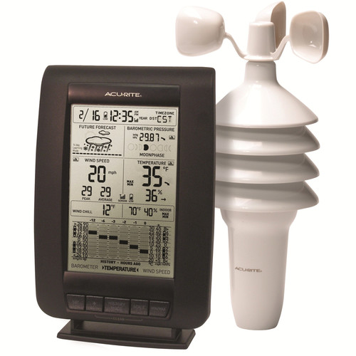 Chaney AcuRite 00634 Wireless Digital Weather Station by Chaney Instruments