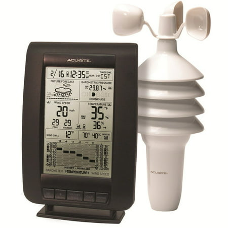 Chaney AcuRite 00634 Wireless Digital Weather Station ()