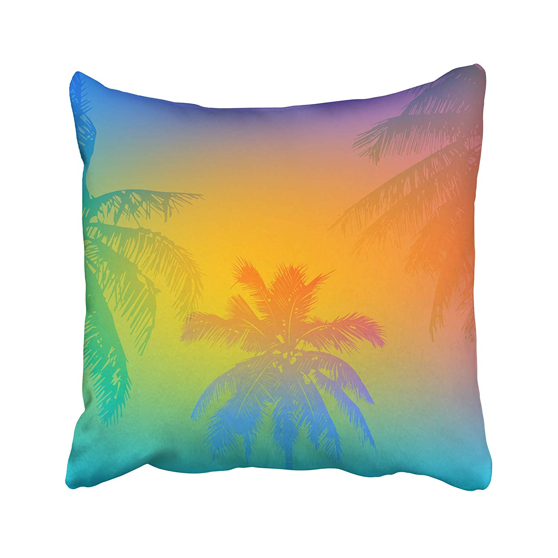 Arhome Colorful Goa Tropical Sunset Sunrise On Palm Beach