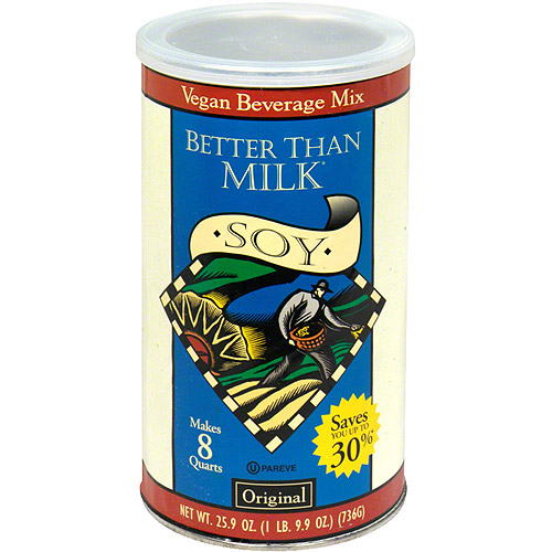 Better Than Milk Original Vegan Soy Powder Non Dairy Drink Mix, 25.9 oz (Pack of 6)