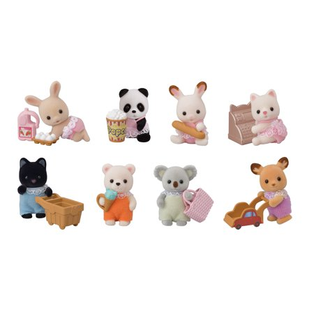 Calico Critters Blind Bag Collectibles, Series II - Baby Shopping Series