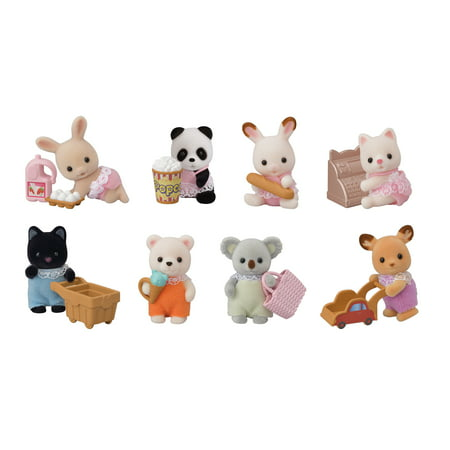Calico Critters Blind Bag Collectibles, Series II - Baby Shopping (Littlest Pet Shop Blind Bags Series 4)