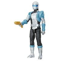 "Power Rangers Beast Morphers Silver Ranger 12"" Action Figure Toy"