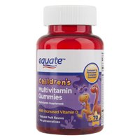 Equate Children's Multivitamin Gummies Dietary Supplement, 70 Ct