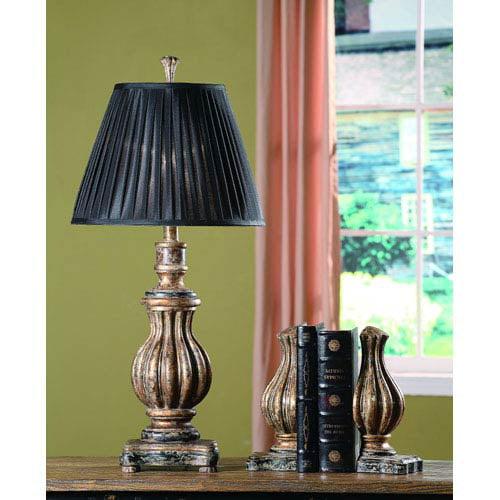 Crestview Italian Bronze One-Light Table Lamp