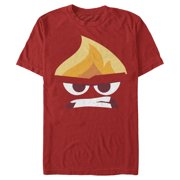 Inside Out Men's Angry Portrait T-Shirt