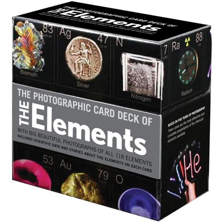 Photographic Card Deck of The Elements : With Big Beautiful Photographs of All 118 Elements in the Periodic Table Motorcycle Big Card