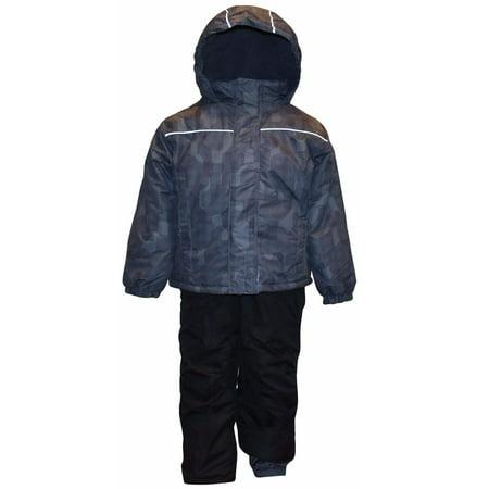 6457c80ec Pulse - Pulse Little Boys  S M L Barrel 2 Piece Snowsuit Waterproof ...