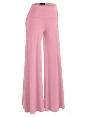 0033bc3eb9f9ce Product Image MBJ WB750 Womens Chic Palazzo Lounge Pants XS PINK