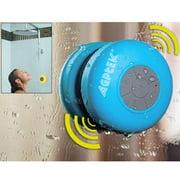AGPtek Wireless Waterproof Speaker Mic Shower Bathroom