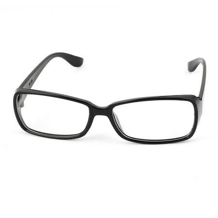 Plain Glass Spectacles (Unisex Clear Lens Spectacles Eyeglasses Eye Wear Plain Glasses)