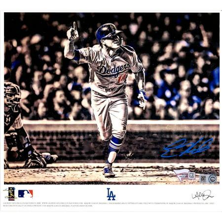 Enrique Hernandez Los Angeles Dodger Autographed 8