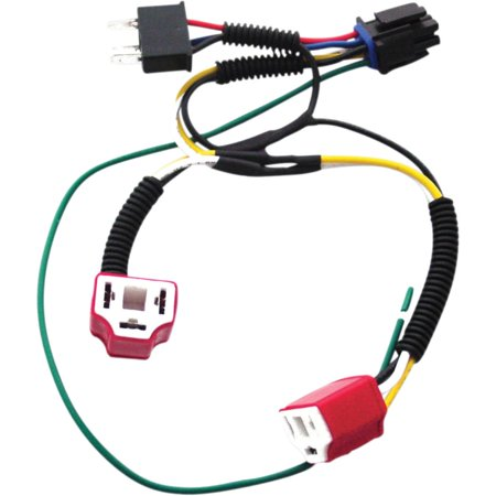Signal Dynamics 01080 Dual H4 Wiring Harness Kit for Plug-and-Play on