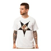 Black Scale Mens The Cupid's Sin Graphic T-Shirt