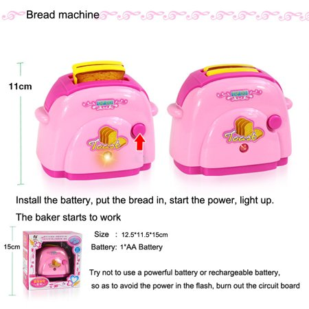 New Amusing Baby Kid Developmental Educational Pretend Play Home Appliances Kitchen Toy Gift Baby Kid Developmental Educational Pretend Play Home Appliances Kitchen Toy GiftProduct DetailMaterial: ABS Plastic (safe, durable, non-toxic, tasteless)Theme: Home Appliances ToysFit For Age: 3-7 years oldNote: Packing With Original Box. We well put it in the package with extra thick , shockproof,waterproof, and guarantee the items safe complete to reach you.Due to different batches,the dark and light color maybe a little different with the picture.Feature:It a popular toy. The toy allow your child to express himself, be creative, and make choices,can be used in many different positions and different kinds of play.Provide a chance for you  or other children to be involved and will build social skills.Will the toy engage your child in activities that indicate the child's developmental age and  growth, to reflect the child's interests!It is safe, durable, considering your child's age and strength. Bright vivid colors non-toxic, tasteless, environmentalWith educational toys, a great way for you to relax and enjoy your child's company.with educational toys, you can follow, supervise and direct your child's development, and find great thrill and amusement in their playtime activityPackage Included:1x Home Appliances Toys (Package Included: 1x Home Appliances Toys (Battery is not included,please use the common # 5 ones ,dont use Nanfu Shusnglu Jinbawang in case it broke the items)
